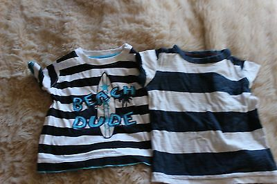 Boys tops x2 . Size 6-9 months