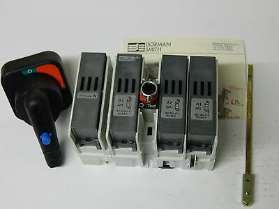 Dorman smith SE4P32A 3 Phase Fused + N, Switch Disconnector 32A