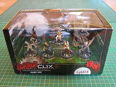 HORRORCLIX STARTER GAME - unopened