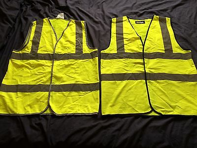 2x High visibility vests