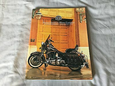 Harley Davidson Accessories Catalog from 1998, very good condition