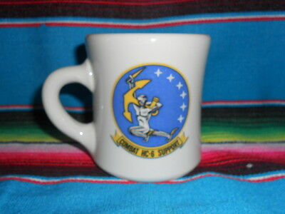 "COFFEE CUP / MUG COMBAT HC-8 SUPPORT personalized "" DENNIS """