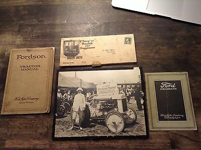 Fordson Tractor Brochures, Photo lot Ford Model A