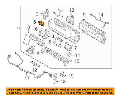 FORD OEM Battery-Disable Switch AE5Z10A757A