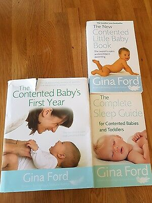 Gina Ford Baby Book Bundle