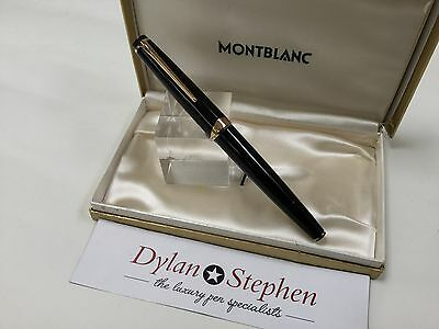 montblanc meisterstuck no14 vintage 1960's fountain pen M nib with box