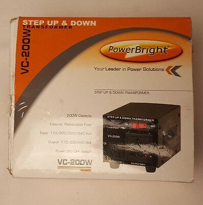 Power bright step up and down transformer