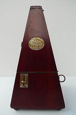 Antique Vintage Metronome Theodor PRESSER, Philadelphia, WITH BELL - Made in USA