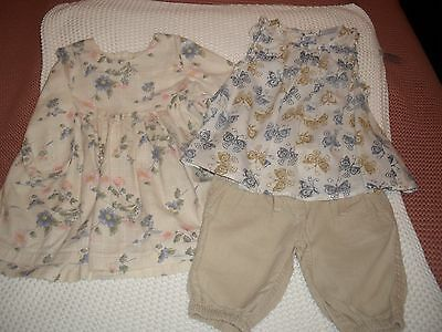 Baby girls short suit & dress by Next 6/9 months