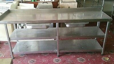 Commercial Catering Table Stainless Steel