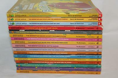 BERENSTAIN BEARS 17 book lot~ALL Big Chapter~includes 3 Scout Series~Beautiful!!