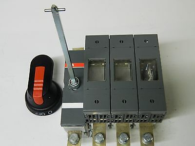 ABB OS 200GB03N3-42 3 Phase Fused + N, Switch Disconnector 200A