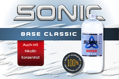 SONIC CLASSIC 50 / 50 - Basisliquid - Basis - Base - 0/3/6mg Nikotin - E Liquid