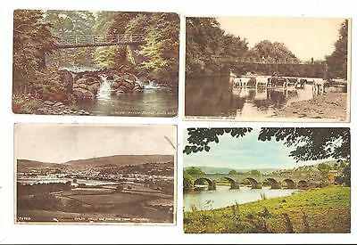 Four Old Postcards of Builth Wells