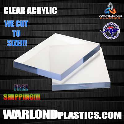PERSPEX® CLEAR ACRYLIC SHEET 1220x600x4.5mm FREE SHIPPING!!!