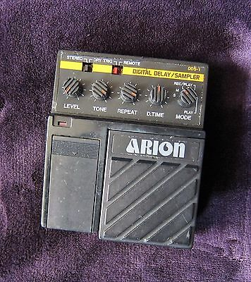 Arion DDS-1 Digital Delay Sampler 80s Japan Lo-Fi Noise