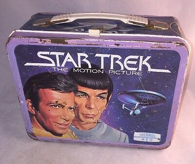 1979 Vintage Star Trek The Motion Picture Lunch Box - Metal - Paramount Pictures