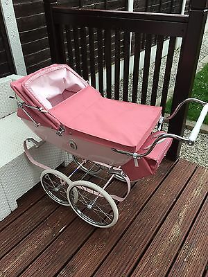 Silver cross Dolls Pink Buggy And Bag