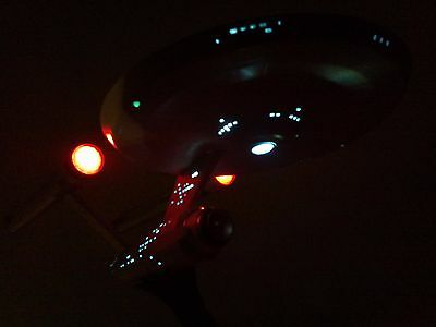 Star Trek Enterprise NCC 1701 model kit Revell incl LED light set illumination