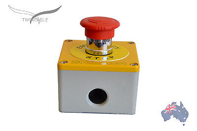 Metal Emergency Stop, switch12V 24V safety, e stop telemechanique.1 unit