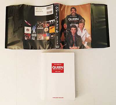Queen - Japan Collector's guide - Softcover DJ - File Series 02 - Rock Jet