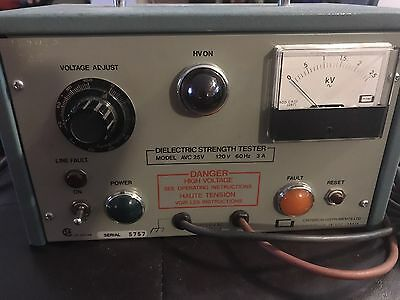 Dielectric Strength Tester Model AVC 25V