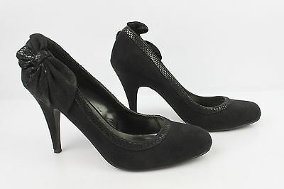 Court shoes Knot NEW LOOK Black Suede T 41 NEW CONDITION