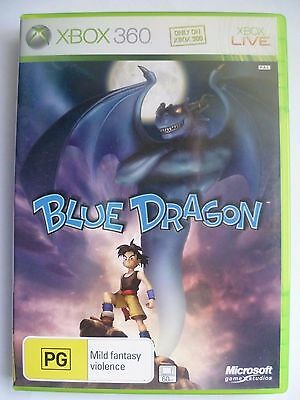 Blue Dragon (Microsoft Xbox 360 Game) Aus Seller, Complete