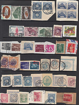 Japan Selection Early Stamps (42) Used Includes Postmarks #10