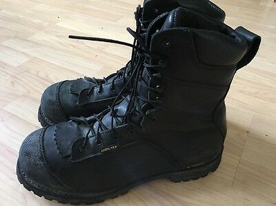 Red Wing TruWelt 3527 Leather GoreTex Safety Toe Boots Men's 13 D