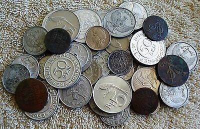 23 Different Indonesia Coins  1741-1971