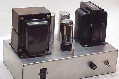 Vintage Power Supply Unit w/Thordarson 22R34 Choke Type T-74C29 for Parts/Repair