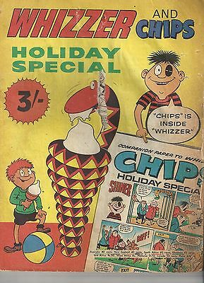 Whizzer and Chips Holiday Special 1970 - 1st One! - Fleetway Dandy Beano