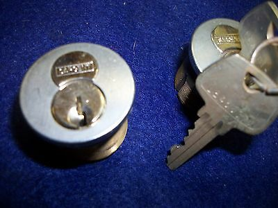 """Sargent Le Keyway 1 1/4"""" Us26D Remoable Core Mortise Cylinders -#63-42(2)"""