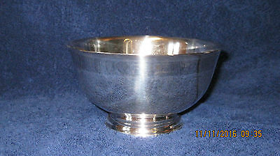"Sterling Silver 6.5"" Paul Revere reproduction bowl"