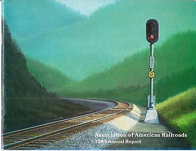 Association of American Railroads AAR 1983 Annual Report