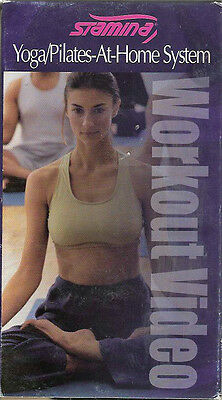 Stamina brand VHS: Yoga/Pilates-At-Home System home Workout Video