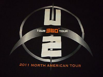 U2 Tour Shirt ( Used Size XL ) Very Good Condition!!!