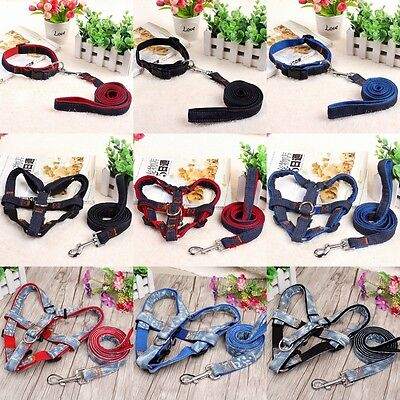 Hot Pet  Puppy Traction rope Adjustable Control Large Dog Training Harness Lead