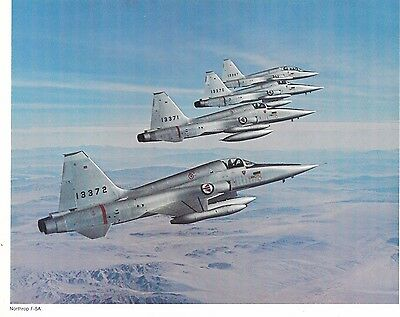 1960's Northrop F-5A Freedom Fighter Concept Art - Photographic Lithograph Print