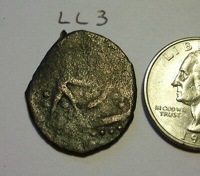 Unknown Unusual Ancient or Medieval Coin.   (lot #  LL3)