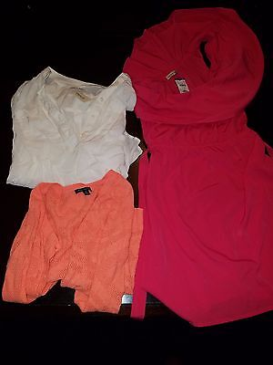 Lot Of 3 Women's Size S Dress, Shirt & Sweater Aero American Eagle, Body Central