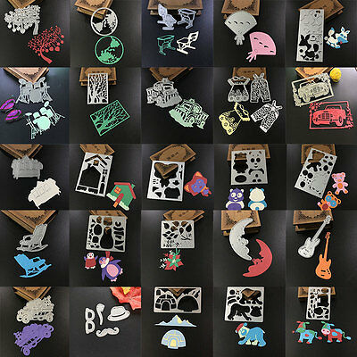 Craft Dies Cutting Metal Stencil Scrapbook Paper Embossing Gift Card Decor