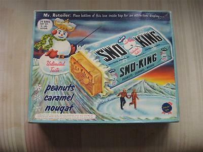 Vintage SNO-KING by Hollywood Brands Candy Box (NR)