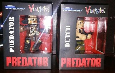 "Vinimates ""predator"" Set, Dutch And Predator, Brand New"