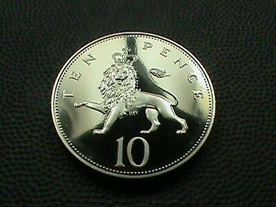 GREAT  BRITAIN    10  Pence    1987     PROOF