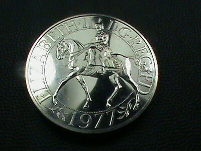 GREAT  BRITAIN    25  Pence    1977     PROOF