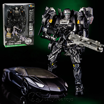 Age Of Extinction Black Lockdown Metal Parts Figure Toys With Box