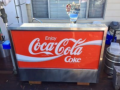 Coca Cola Fully Functioning Bar with Miracle Box - Retro, Beer, Stainless Steel
