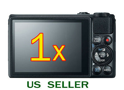 1x Clear LCD Screen Protector Guard Cover Film For Canon PowerShot S120 Camera